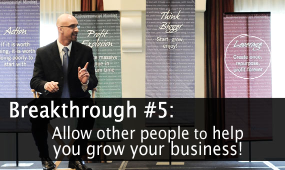 Adam Urbanski says: build your team - grow your business faster!
